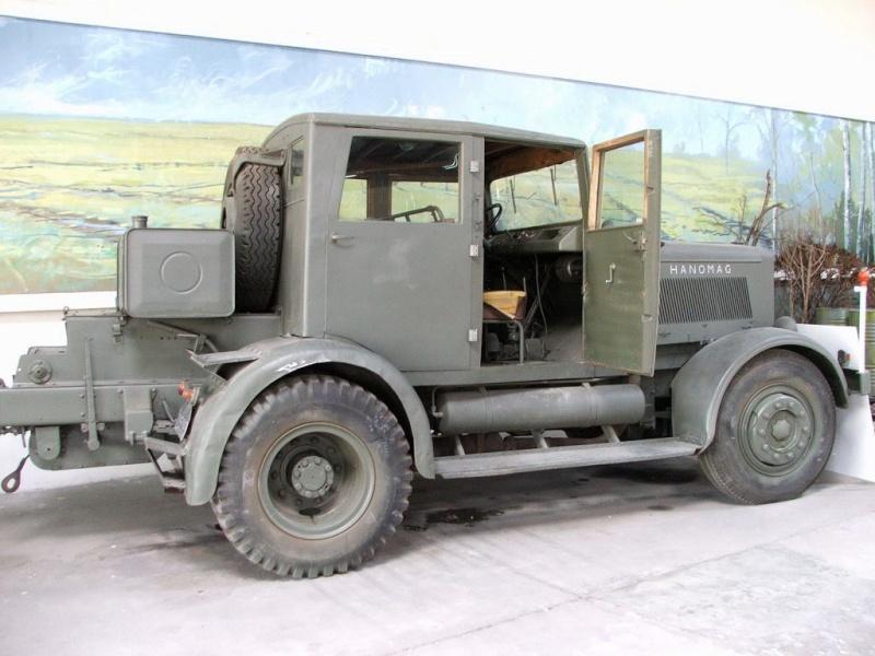 tracteur Hanomag SS 100  Takom 1/35 Saumur20