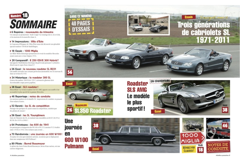 Le magazine Etoile passion Sommai16