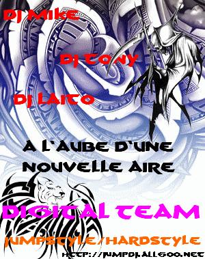 Affiche de la Digital team Digita16