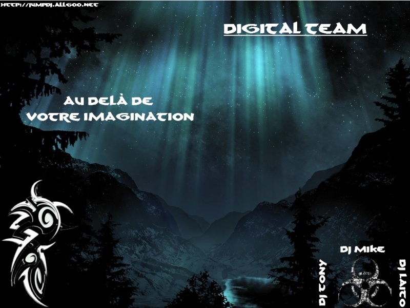Affiche de la Digital team Digita18