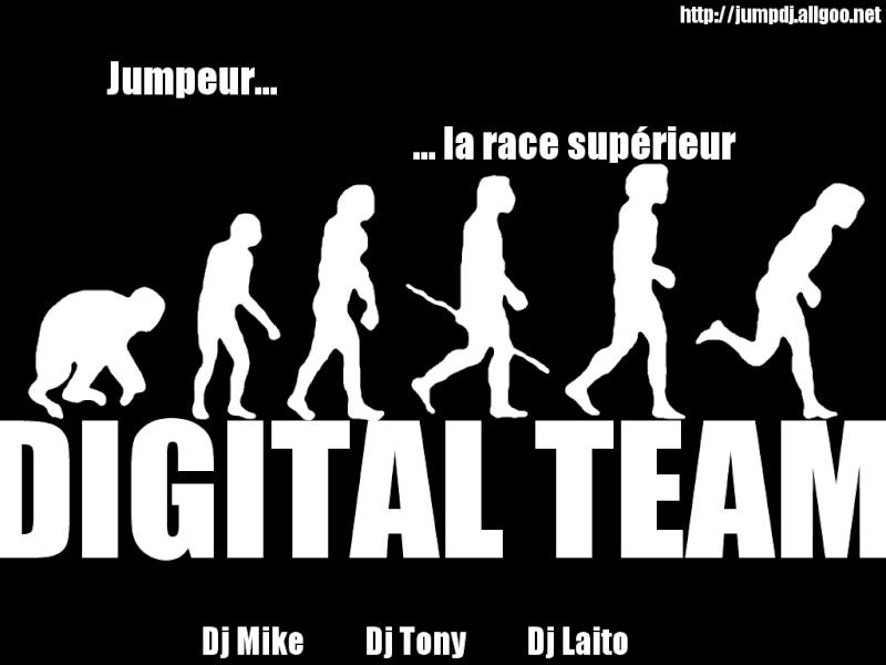 Affiche de la Digital team Digita19