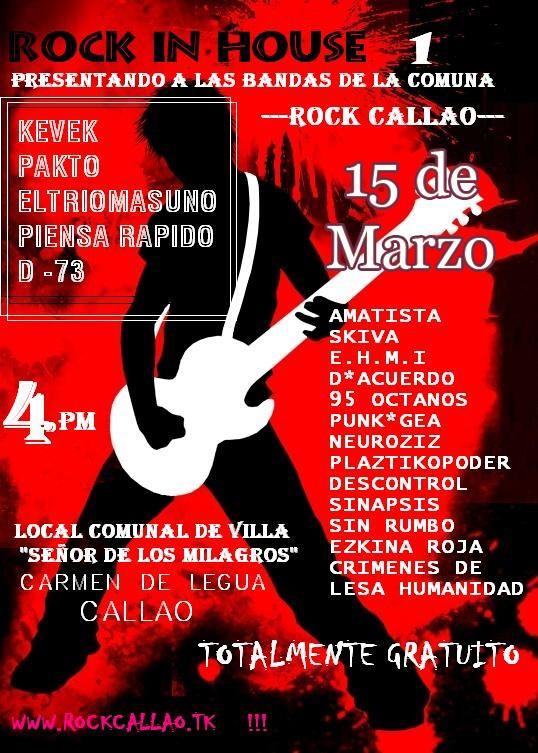 Concert!!! en Carmen de la Legua Flyer210