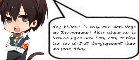Compte en banque de Willow Lewis Signba10