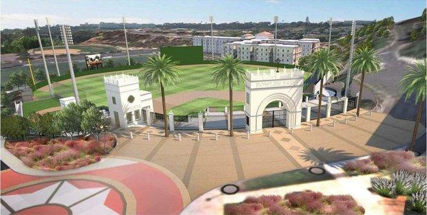 River Campus--Baseball Stadium updates Ballpa13