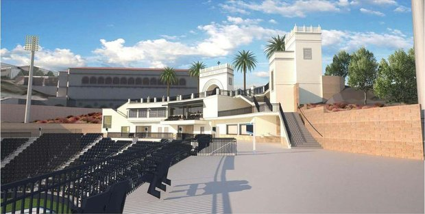 River Campus--Baseball Stadium updates Ballpa14