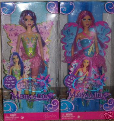 Barbies Fairytopia et mermaidia 5470_110