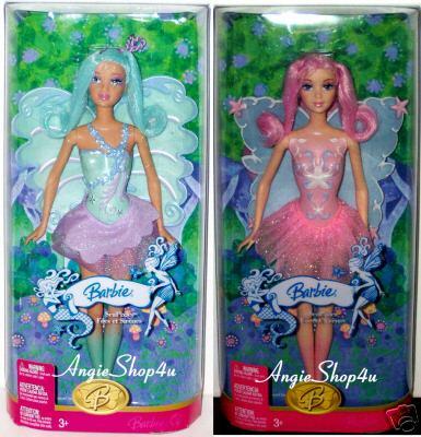 Barbies Fairytopia et mermaidia Barbie13