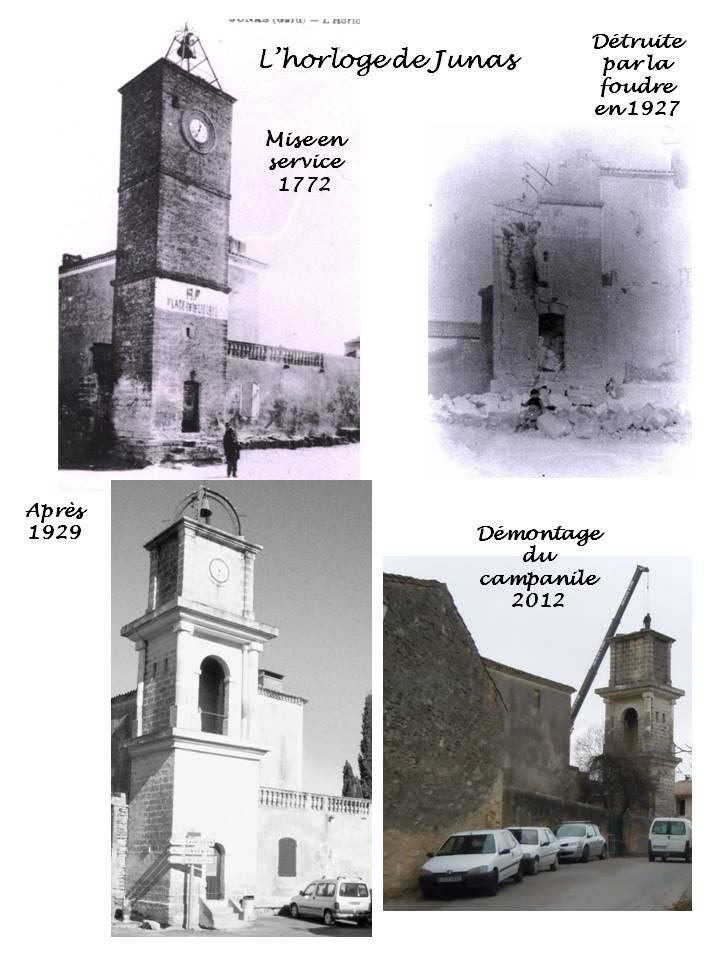 Démontage du campanile de l'horloge Horlog11