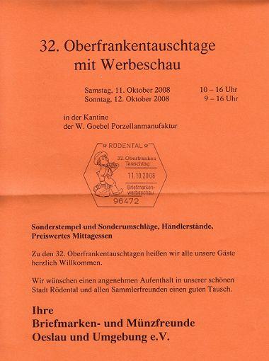Oberfrankentauschtage 11./12.10.2008 Rödental Pic00063