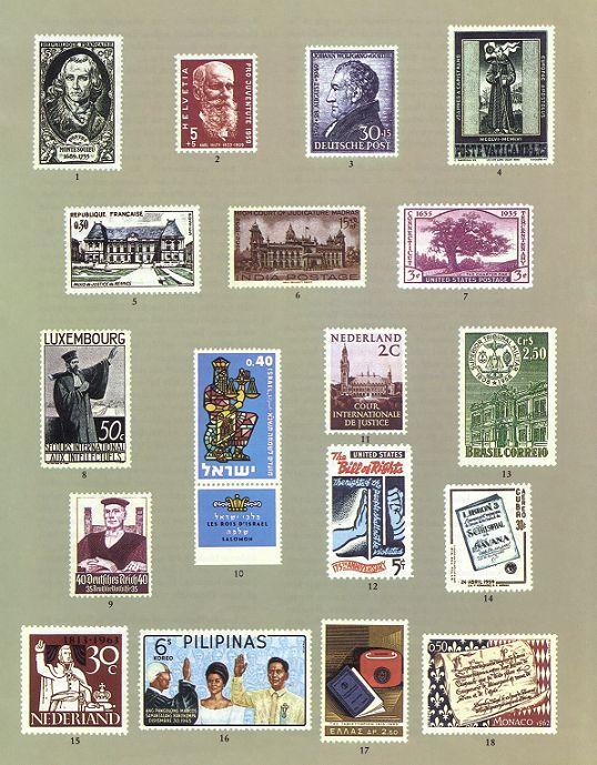 Das Recht in der Briefmarke Pic00122