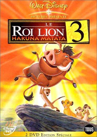 Le roi lion I, II, III Lion310