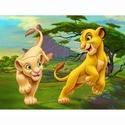 Le roi lion I, II, III D0140210