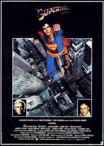 SUPERMAN, LE FILM (1978) Affich10