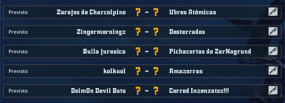 Campeonato Piel de Minotauro 8 - Grupo 1 / Jornada 4 - hasta el viernes 15 de marzo 2019-010