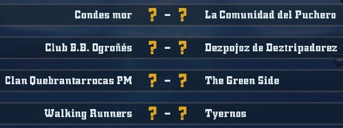 4ª Doblez Karakolaz - Playoffs (Cuartos de final - hasta el domingo 28 de abril) 20190411