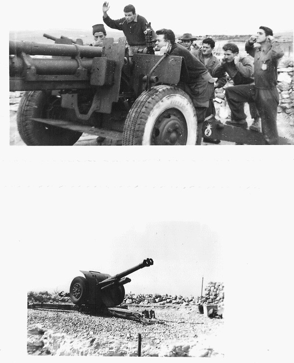 Canons de 105 mm hotwizer - Poste Signal 06_03_10