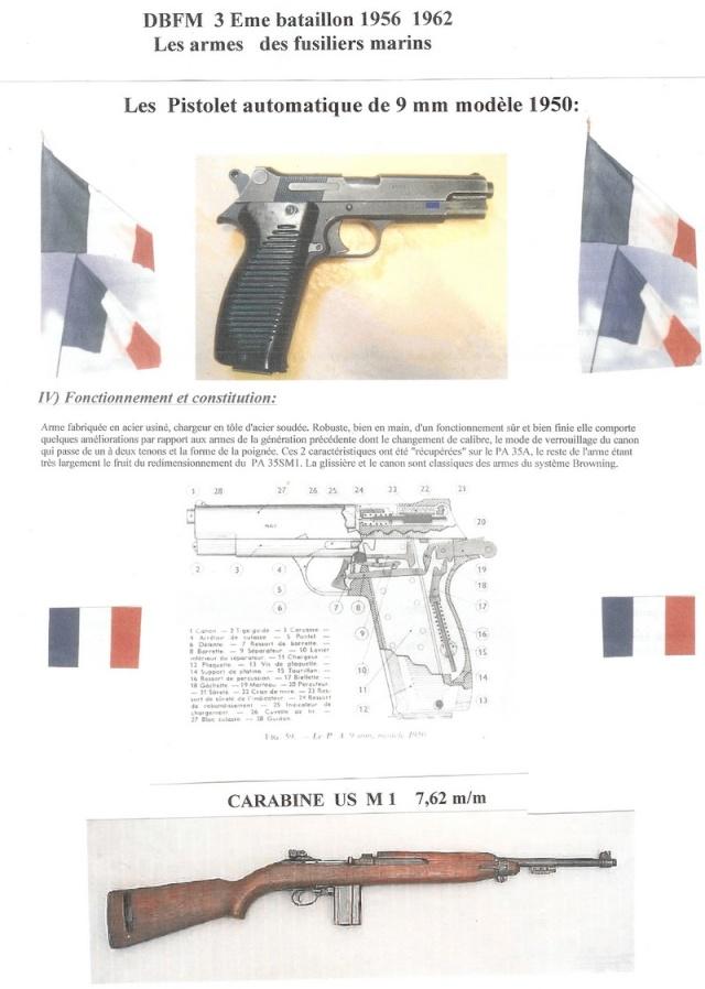 Armement des Fusiliers Marins Numeri24