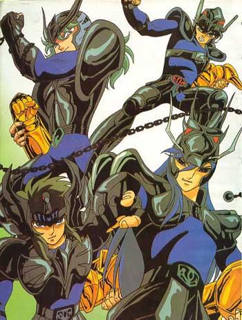 Saint Seiya - As armaduras Blacks10