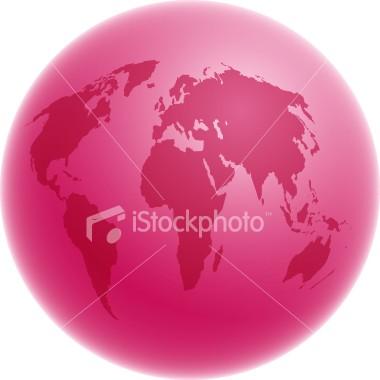 Planeta cor-de-rosa Istock10