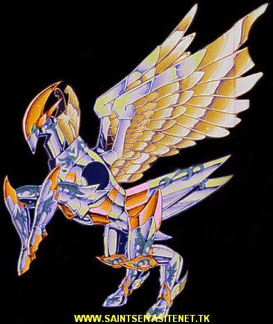 Saint Seiya - As armaduras Pegaso10
