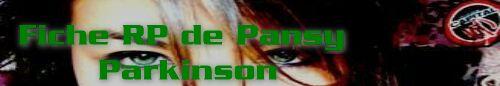 ♦ RP de Pansy Parkinson. 36366910