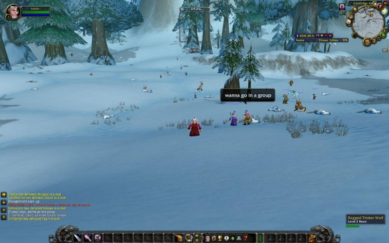 Do you have any neat screenshots that you might want to share... Wowscr12