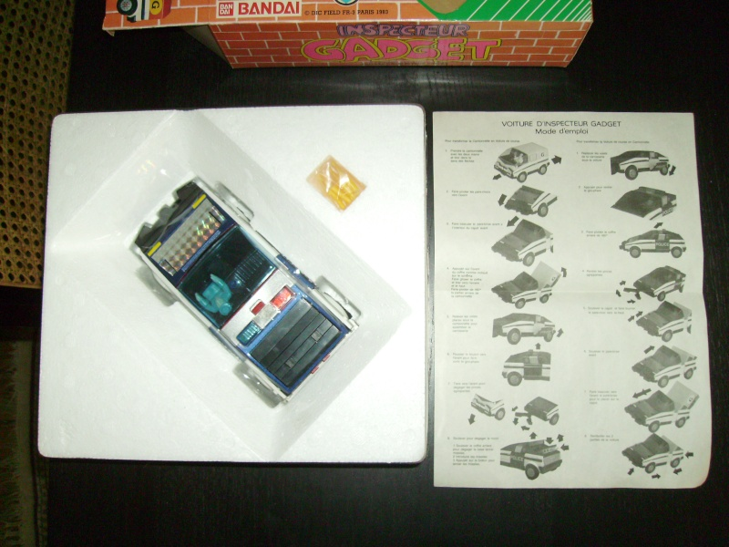 INSPECTOR GADGET / Inspecteur Gadget (Bandai, Galoob..) 1985 Imgp0036