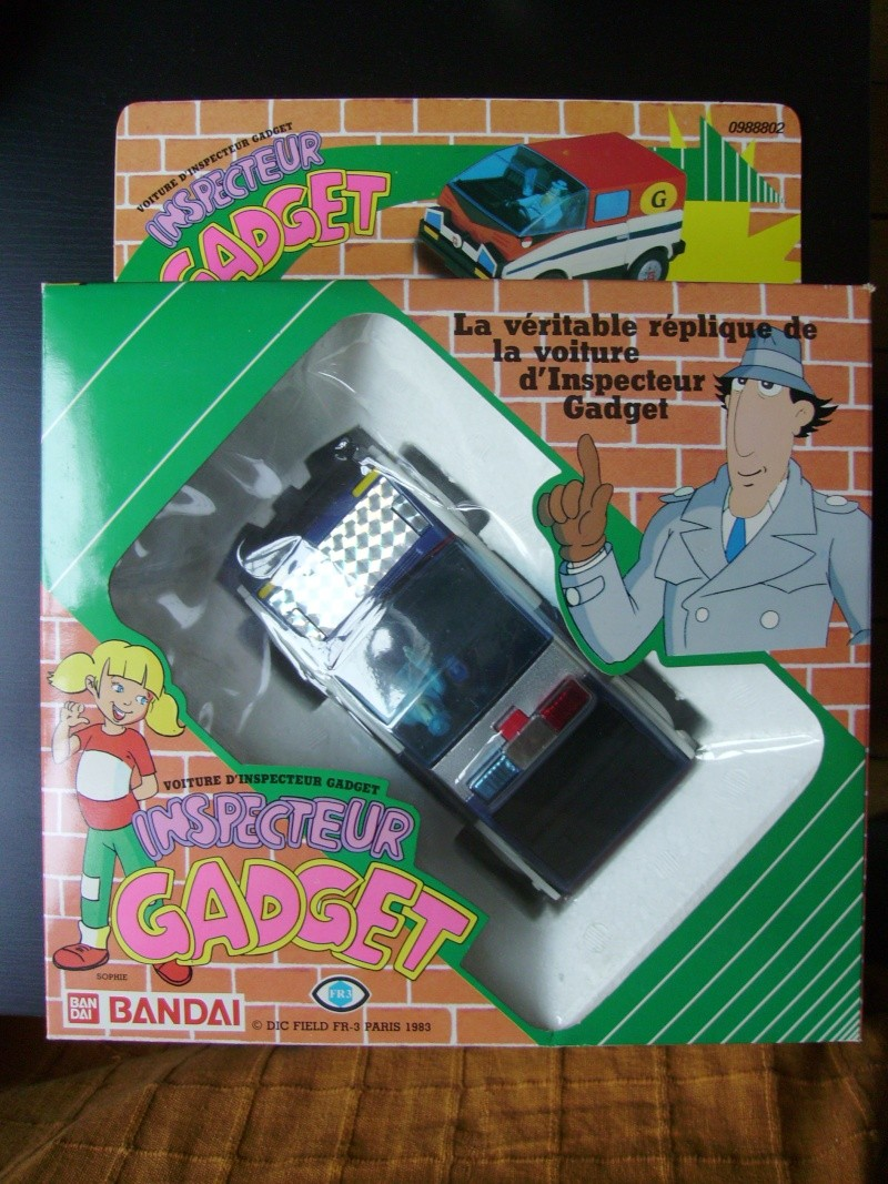 INSPECTOR GADGET / Inspecteur Gadget (Bandai, Galoob..) 1985 Imgp0039