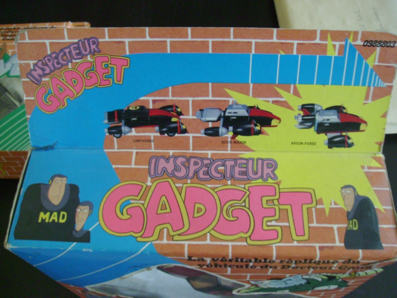 INSPECTOR GADGET / Inspecteur Gadget (Bandai, Galoob..) 1985 Imgp0042