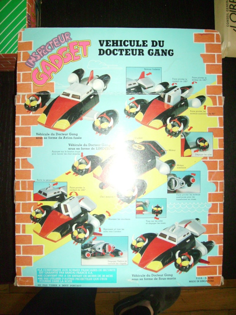 INSPECTOR GADGET / Inspecteur Gadget (Bandai, Galoob..) 1985 Imgp0046