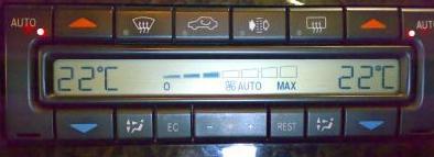 Painel Digital do Ar Condicionado Mercedes E420 1997 (W210) - Ficou louco!!! Merced11