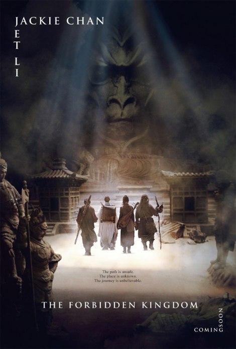 """Nueva película de Jackie Chan y Jet Li """"The Forbidden Kingdom"""" conquista las listas americanas Thefor10"""