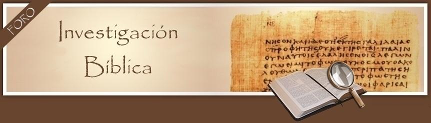 Investigación Bíblica