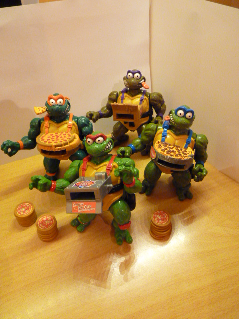 [Vente]   Figurines tortue ninja lance pizza. P1040516