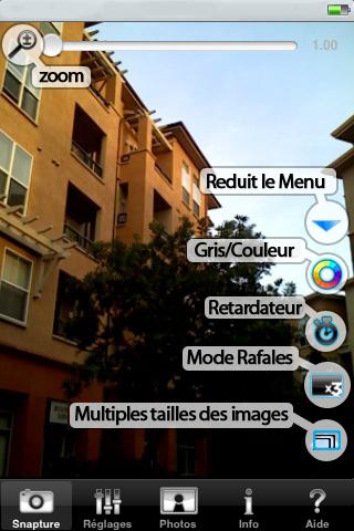 Nouvelle Application Snapture Label210