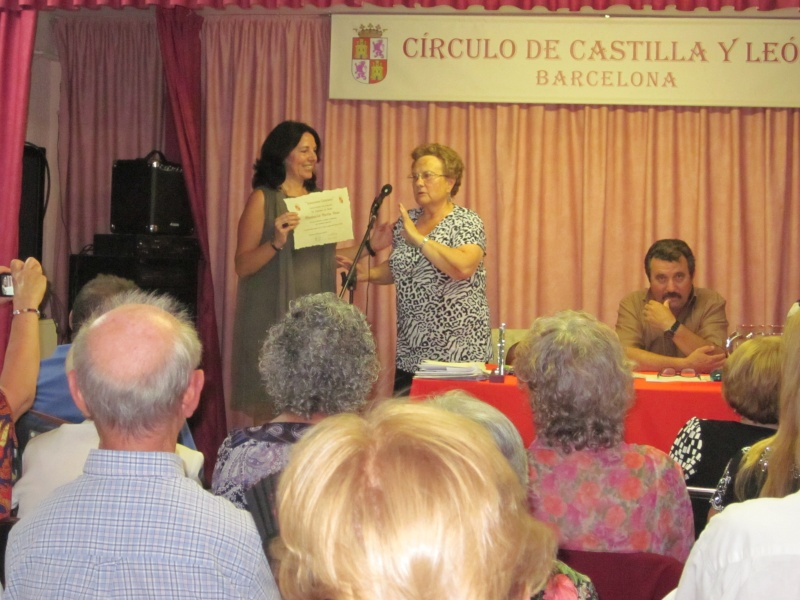 """FOTOS XV CERTAMEN DE POESÍA """"AMANECER LITERARIO"""" 2012 DEL CÍRCULO DE CASTILLA Y LEÓN EN BARCELONA Img_0512"""