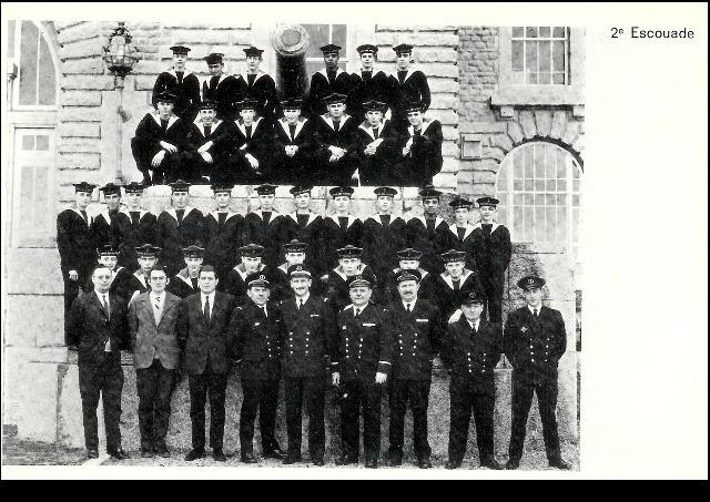 Ecoles des Mousses 2 ème compagnie mars 1968/décembre 1969 M00310