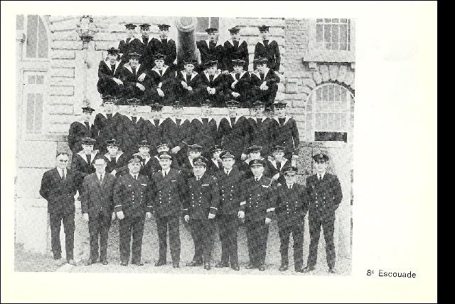 Ecoles des Mousses 2 ème compagnie mars 1968/décembre 1969 M01110