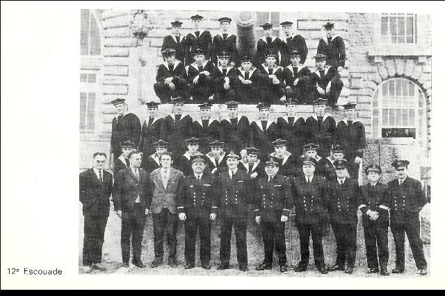 Ecoles des Mousses 2 ème compagnie mars 1968/décembre 1969 M01310