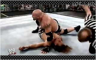 KOF History Moment # 7 (Spécial Elimination Chamber) Goldbe28