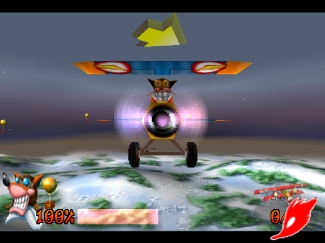 crash bandicoot 3 : warped Scr3-511