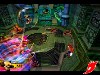 crash bandicoot 3 : warped Scr3-611