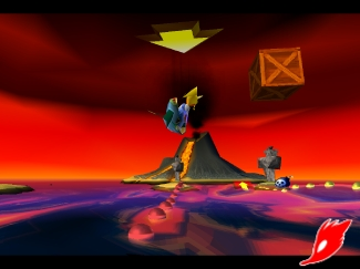 crash bandicoot 3 : warped Scr3-616