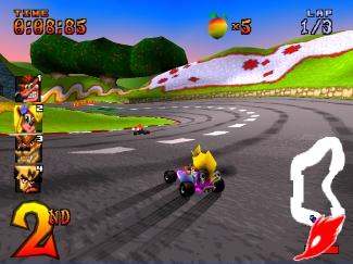 CTR : crash team racing Scrctr14