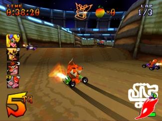 CTR : crash team racing Scrctr22