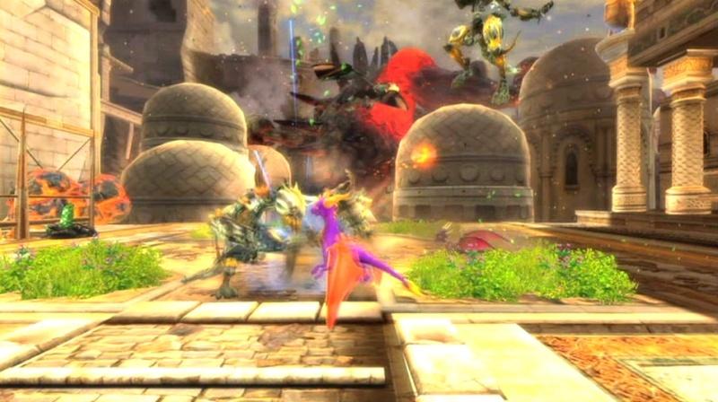 la légende de spyro : la naissance d'un dragon Screen37