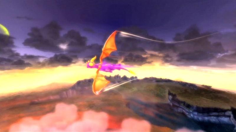 la légende de spyro : la naissance d'un dragon Screen40