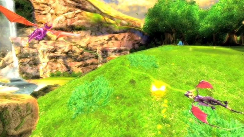 la légende de spyro : la naissance d'un dragon Screen43