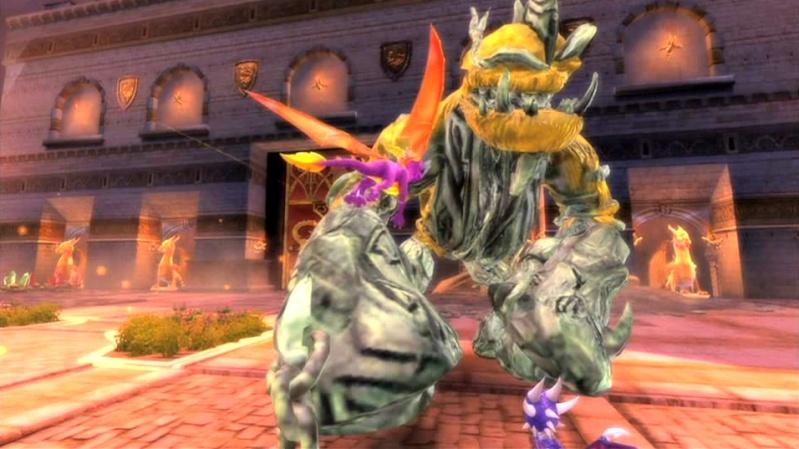 la légende de spyro : la naissance d'un dragon Screen45