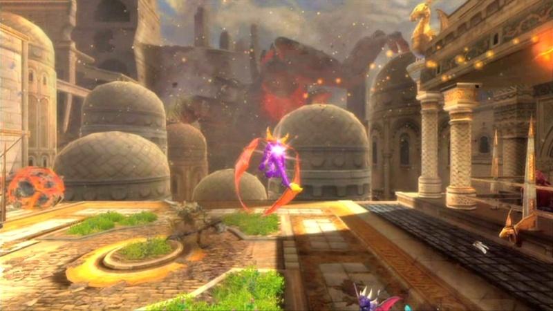 la légende de spyro : la naissance d'un dragon Screen49